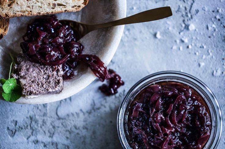 Cibulová marmeláda s portským vínem