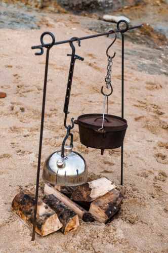 2-in-1-Campfire-Cooking-Tripod-Bushcraft-Camping-Bell-Tents-Yurts-Fire-Pit