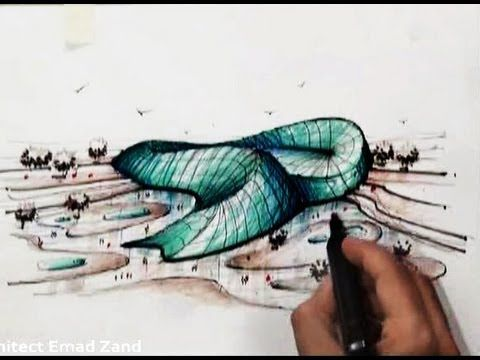 architect emad zand - sketch 17 - خلاقيت در معماري عمادالدين زند