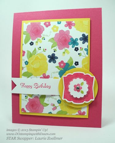 stampin up, dostamping, gingham garden, label love, create a cupcake