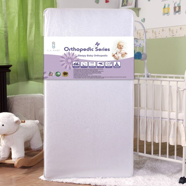Sleepy Baby Orthopedic Crib Mattress