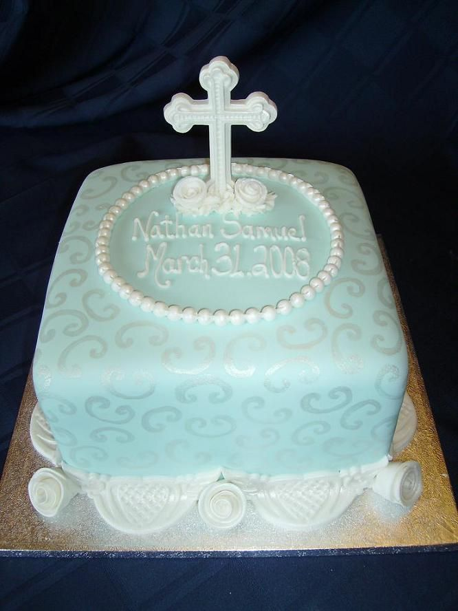 Confirmation Cakes For A Boy