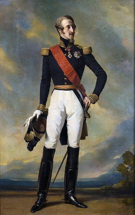 Луи-Шарль-Филипп Орлеанский, герцог Немурский. Франц Ксавьер Винтерхальтер