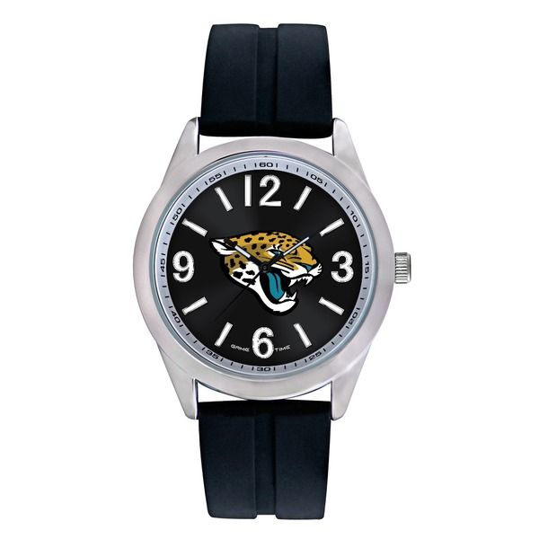 We offer a huge selection of officially licensed Jacksonville Jaguars NFL football watches at http://www.Fan-Watches.com