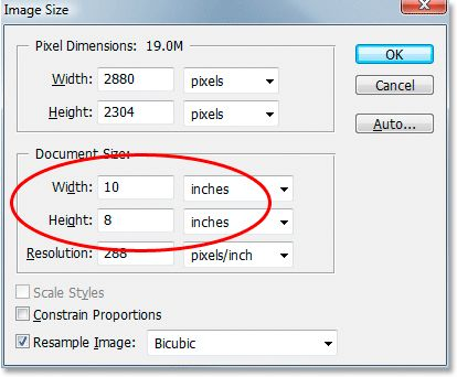 Adobe Photoshop tutorial - Cropping photos to Specific Frame Sizes in Photoshop