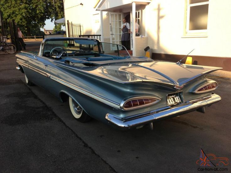1959 Chevy Impala Convertible For Sale In Canada in 2020