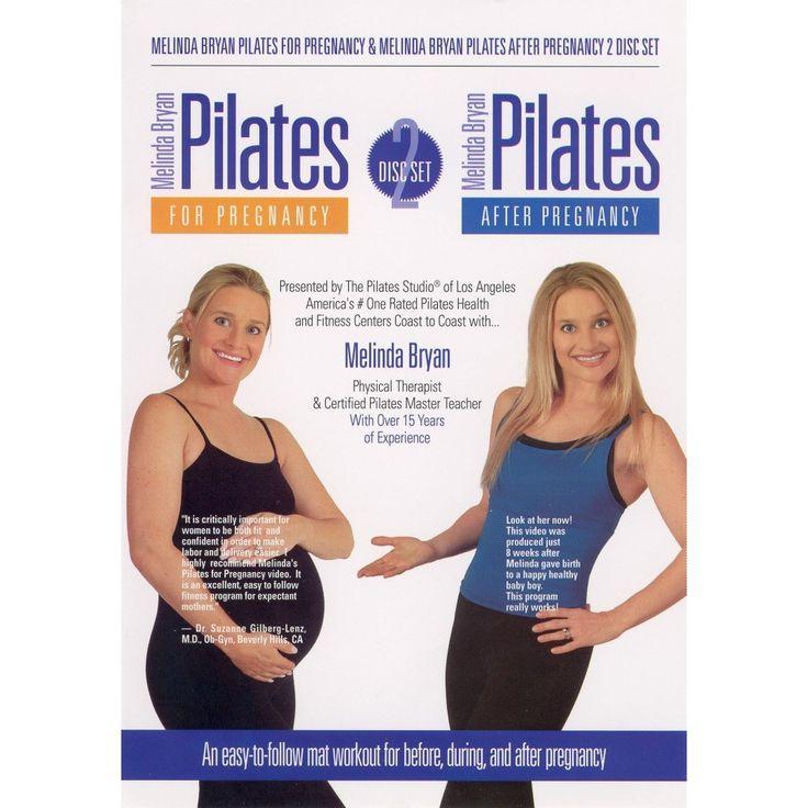 Melinda Bryan Pilates for Pregnancy/Melinda Bryan Pilates After Pregnancy (2 Discs)