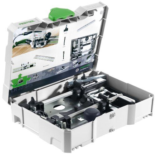 Festool 584100 LR 32 Hole Drilling Set In Systainer 1  http://www.handtoolskit.com/festool-584100-lr-32-hole-drilling-set-in-systainer-1-2/