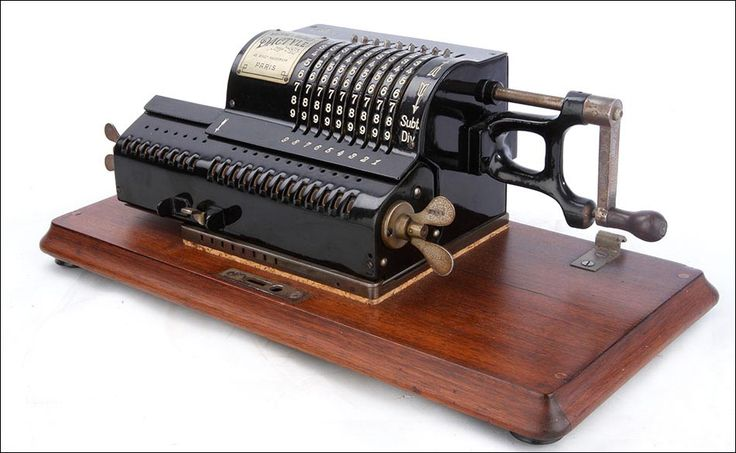 calculadora antigua Dactyle