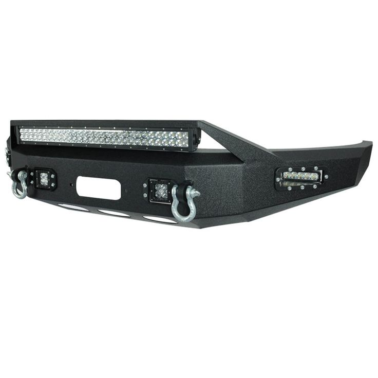 15-16 Ford F-150 Front LED Winch Bumper