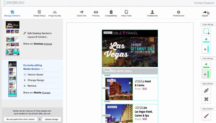 #Correo_electrónico #email #html inkbrush, una excelente forma de diseñar emails HTML