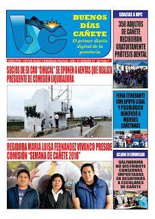 buenosdiascanete.blogspot.com: DIARIO DIGITAL BUENOS DIAS CAÑETE, EDICIÓN 22 NOVI...