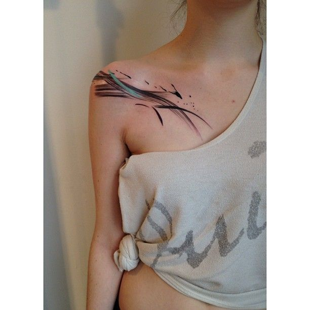 Watercolour Tattoo #tattoo #ink #inked #art