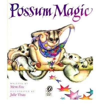 When Grandma Poss's magic turns Hush invisible, the two possums take a culinary tour of Australia to find the food that will make her visible once more.