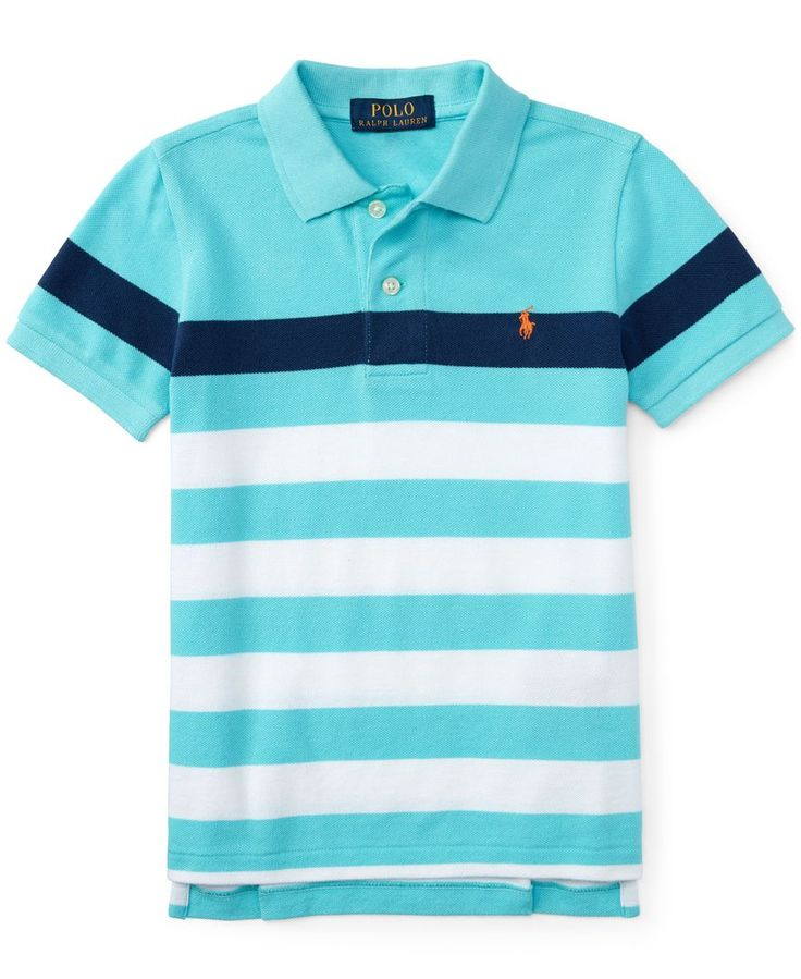 Ralph Lauren Little Boys' Striped Polo Shirt - Shirts & Tees - Kids & Baby  - Macy's