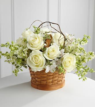 floral arrangement from FTD---someday I'm going to learn how to arrange like this.  So pretty.