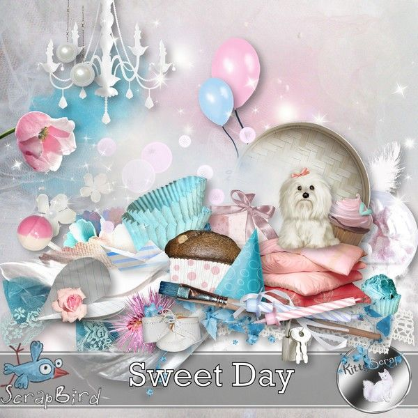 kit sweet day by kittyscrap