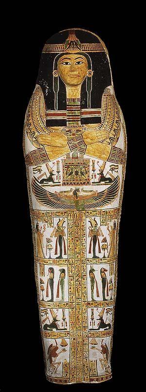 Coffin set of Henettawy [Egyptian; From Deir el-Bahri, western Thebes] (25.3.182-184) | Heilbrunn Timeline of Art History | The Metropolitan Museum of Art