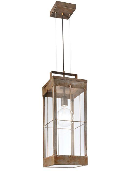 Sospensione Lanterne Iron / Iron Brass / Brass (266.18)