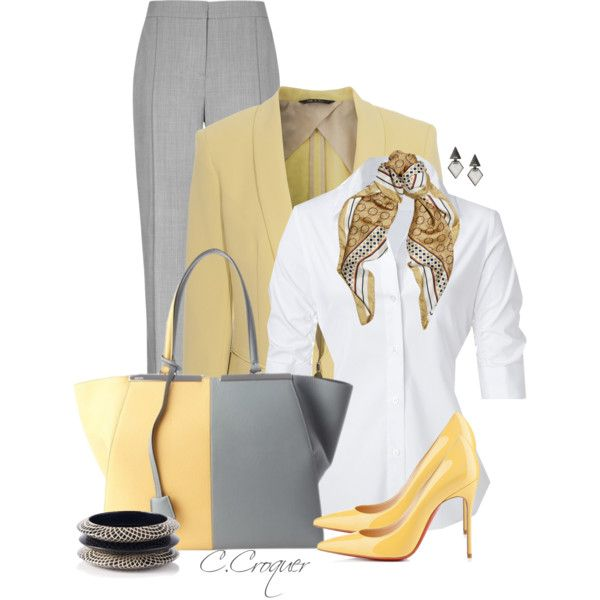 """Work Outfit"" by ccroquer on Polyvore"