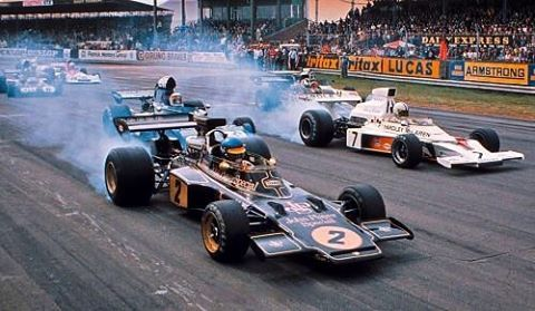 Just try to imagine the sound... ❤️⛽️ Good old days of F1 #petrocamp