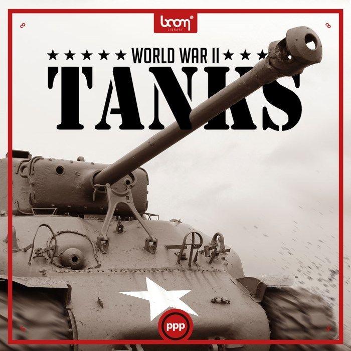 World War 2 Tanks Sound Effects library: http://www.asoundeffect.com/sound-library/world-war-2-tanks/