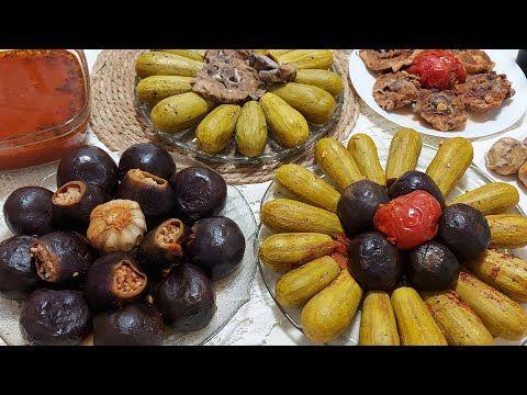 طريقتين لتحضير صوصات المحاشي مع طريقة سريعة للحفر لنستفيد من اللب حرفيا حتبقي معلمة بالمحاشي Youtube Fruit Food