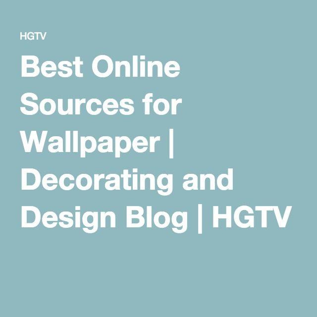 Best Online Sources for Wallpaper | Decorating and Design Blog | HGTV
