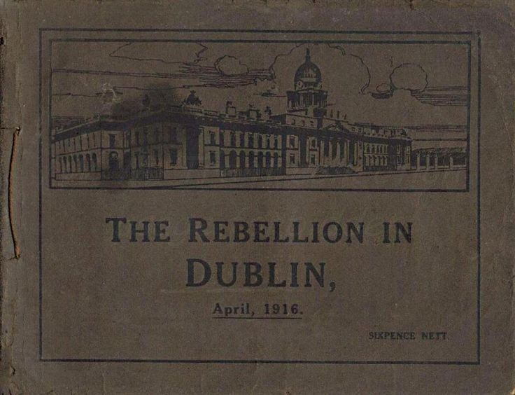 A photo booklet published by Eason & Son of Dublin and Belfast regarding the Easter Rising of 1916.  There were a number of issues / editions of this booklet - this was the first.  www.flickr.com/photos/w77t/sets/72157651417064270/  Their shop in Dublin's O'Connell Street is still open.