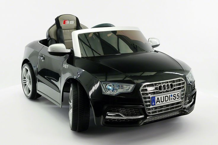 Audi S5 Sport 12V Electric Kids Ride-On Car with Parental Remote | Black