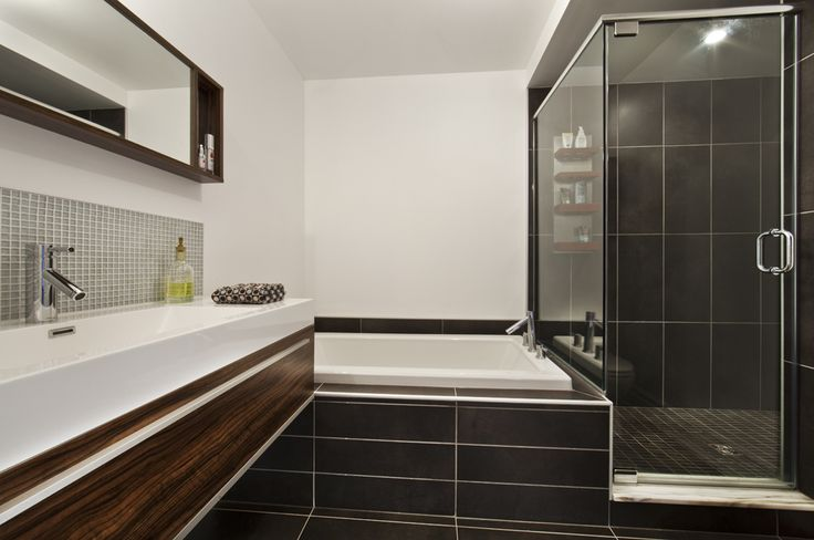 Salle de bain maison de ville Habitations Laurendeau