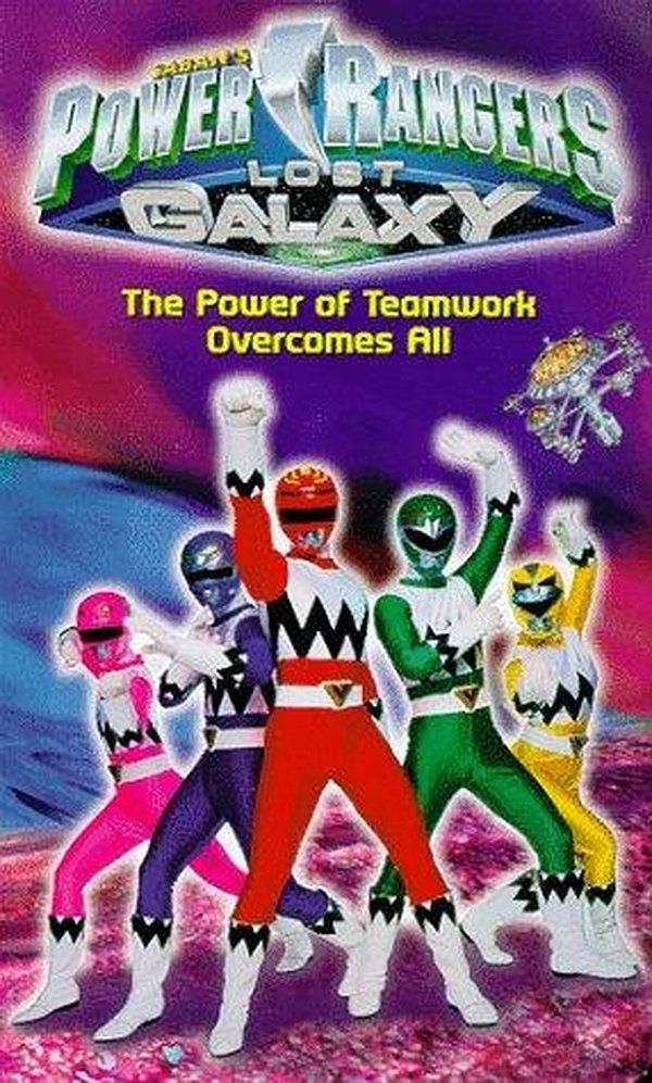 Power Rangers Lost Galaxy (TV Series 1999–2000)
