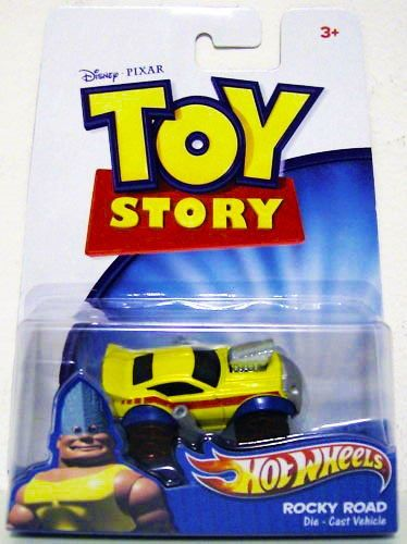 Disney  Pixar Toy Story 3 Hot Wheels Die Cast Vehicle Rocky Road ** Continue to the product at the image link.Note:It is affiliate link to Amazon.