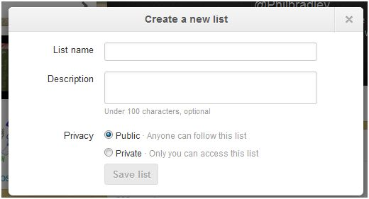 Twitter lists newly improved