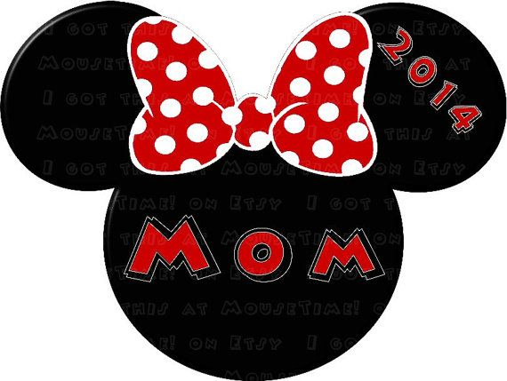 Tshirt Transfer PACKAGE - Mouse Ears Mickey & Minnie Family #1 - INSTANT DOWNLOAD on Etsy, $5.00