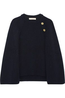 Vanessa Bruno Dastan wool and cashmere-blend cape | NET-A-PORTER