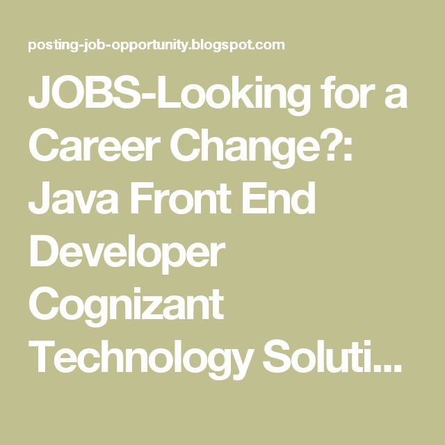 7 best Jobs-Nationwide images on Pinterest Career change - looking for a career change