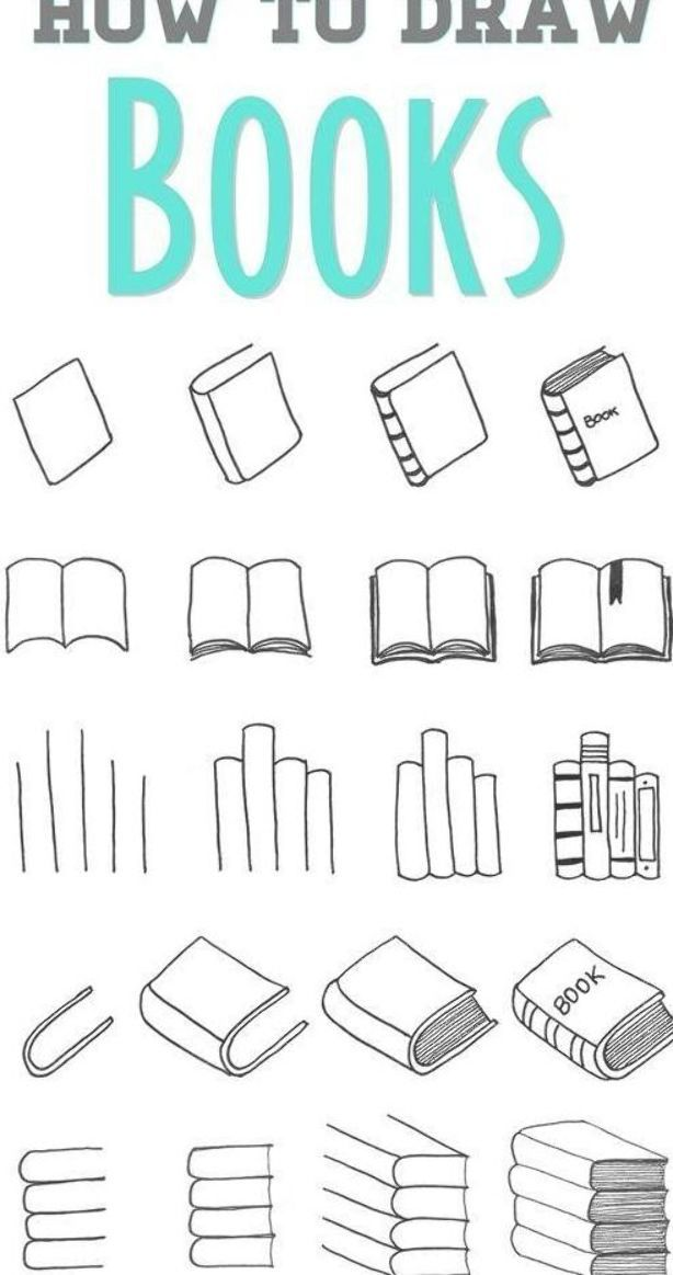 Easy Step By Step Tutorials On How To Draw A Book Learn How To