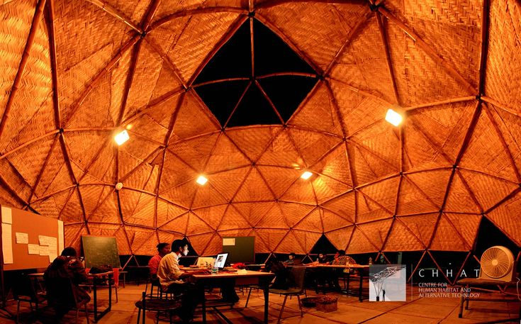Gallery of Adaptable Bamboo Geodesic Domes Win the Buckminster Fuller Challenge Student Category 2016 - 1