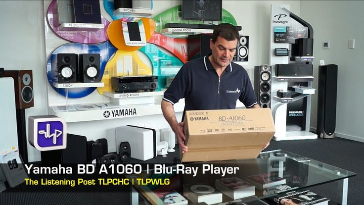 Yamaha BD-A1060 Blu-ray Player Unboxing | The Listening Post | TLPCHC TL...