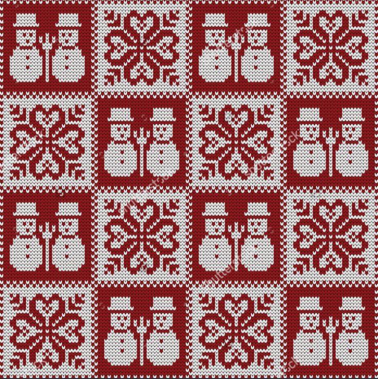 Hermoso para un cojin navideño!!!