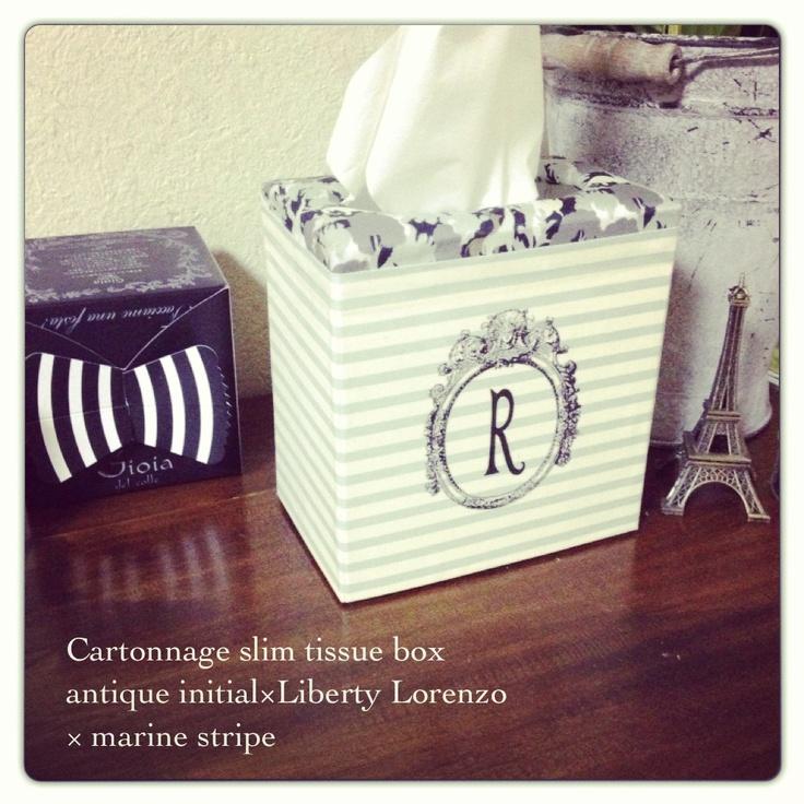 Cartonnage tissue box Liberty Lorenzo
