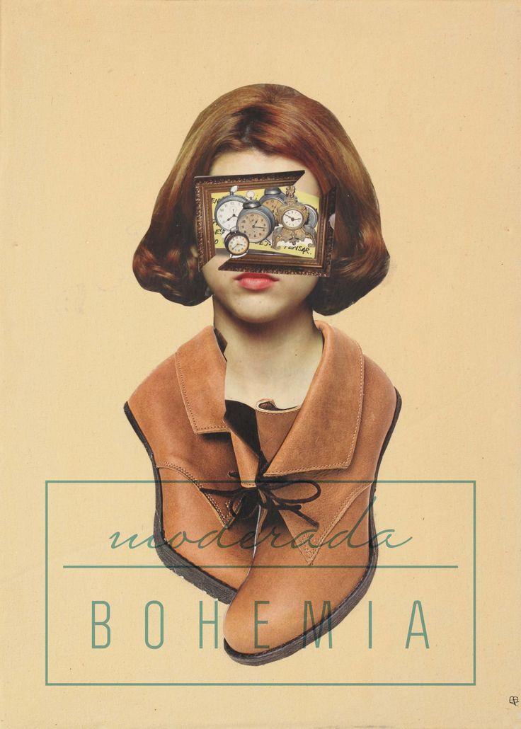 Adriana Bonza. Collage ELLA