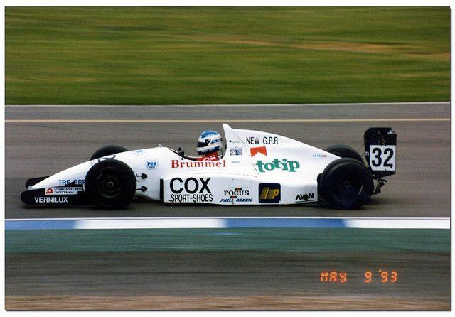 Vincenzo Sospiri - Reynard Cosworth 93D Judd - Mythos Racing - BRDC International Trophy - 1993 International F3000 Championship, round 2 - © Antsphoto
