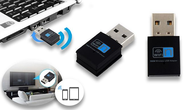 Wifi & Bluetooth USB Dongle Enable your TV or laptop to be connected via the Wifi  and  Bluetooth USB Dongle      Boasts a transmission distance of 10 metres indoors and 20 metres outdoors      Connects to any standard USB port found in laptops or your television      Black in colour and highly portable      Built in 1-5Dbi antenna to help pick up signal      It has an operating temperature of...