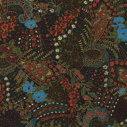 Robert Kaufman Fabrics: EDJM-6501-194 FIESTA from Bohemian Rhapsody