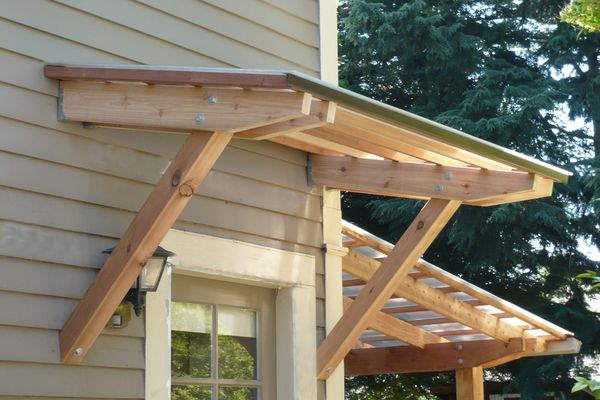 Roof elbowed entry