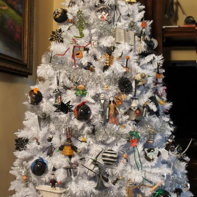 nightmare before christmas christmas tree i want to do that