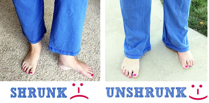 "How to ""Unshrink"" Your Clothes! 