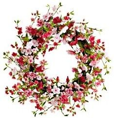Preserved Boxwood Wreaths - contemporary - holiday outdoor decorations - Home Decorators Collection